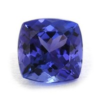3.00 Carats Cushion tanzanite