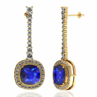 tanzanite-dangle-Earrings