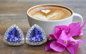 tanzanite+earrings