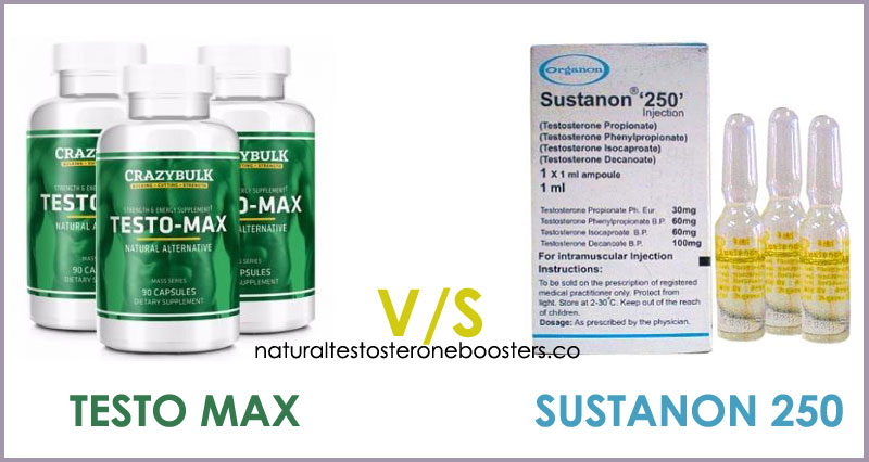Testo Max HD or Sustanon 250 testosterone booster