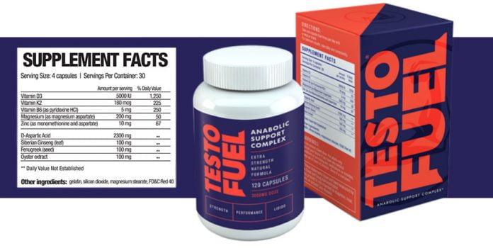 ingredients of Testofuel