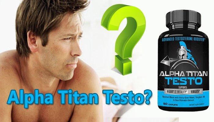 Alpha Titan Testo website