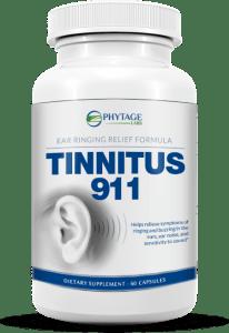 tinnitus 911 bottle
