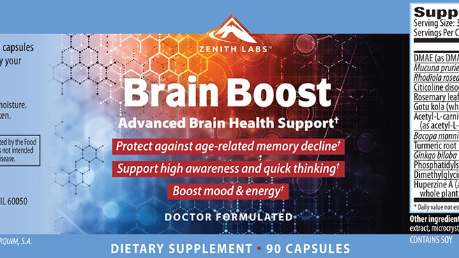 Zenith Brain Boost Review: Enhance Your Memory
