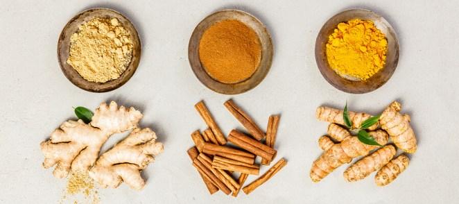 Ginger turmeric cinnamon benefits