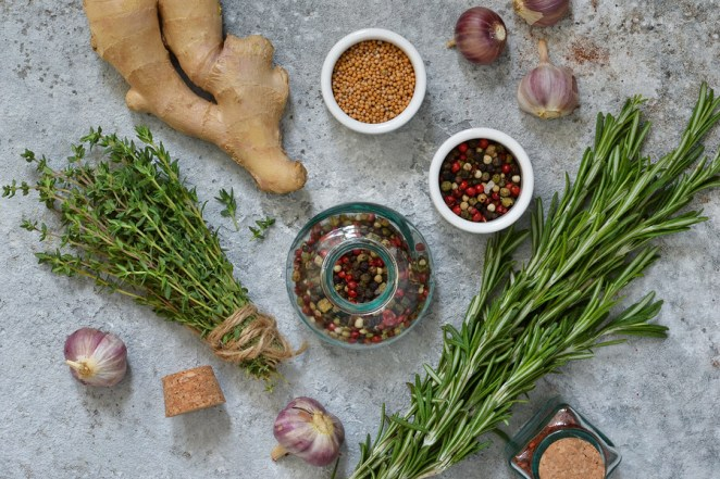 Natural herbs spices for arthritis