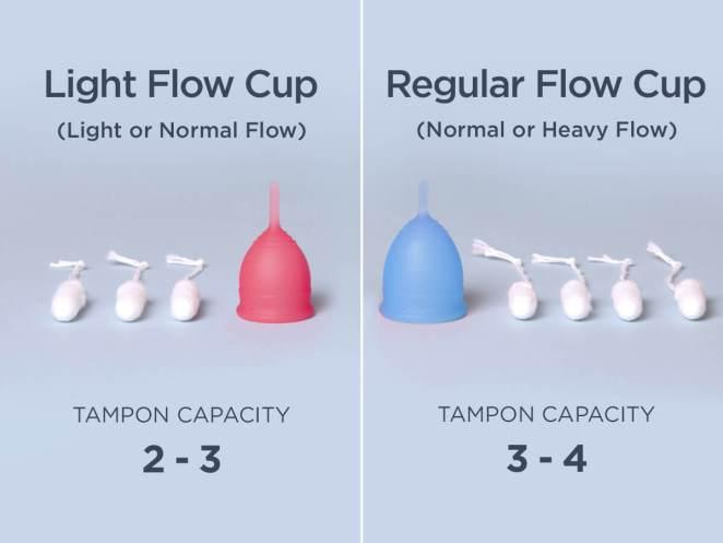SAALT Cup Review - light flow vs regular flow