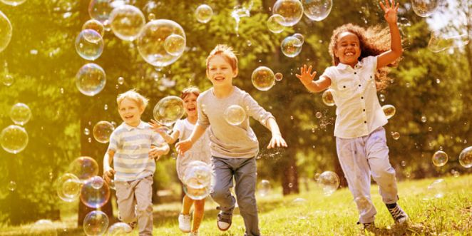 Stay Busy & Healthy All Season with Kids Summer Activities_Title