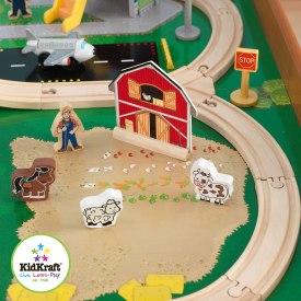 Kidkraft Wooden Ride Around Train Set