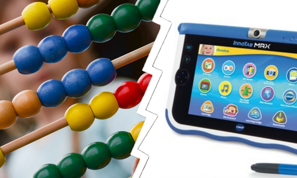 Wooden toys vs electronic toys