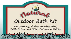 Outdoor Bath Kit, natural ingredients, yucca, https://naturalyuccaproducts.com/body-products/