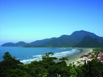 Praia do Guaraú - Peruíbe - Foto