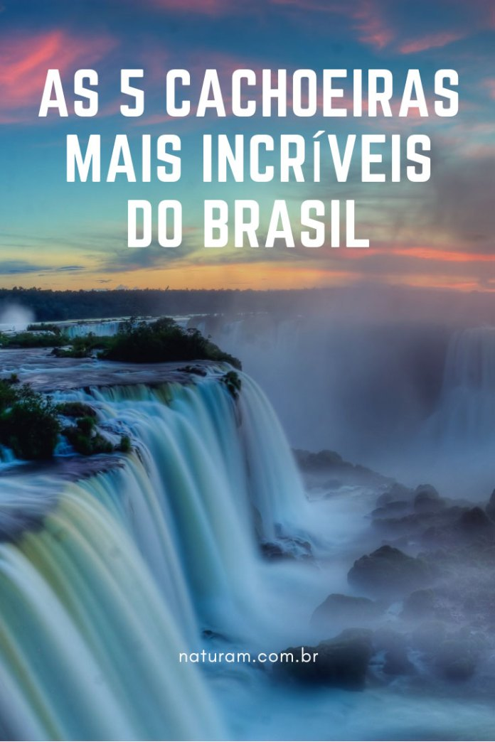 5 Cachoeiras incríveis no Brasil foto