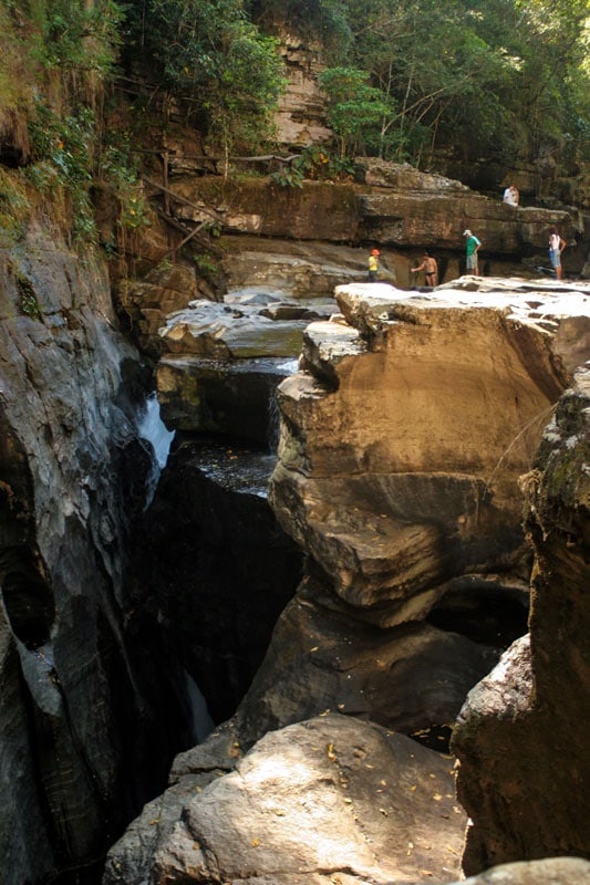 Caverna na Chapada dos Veadeiros foto