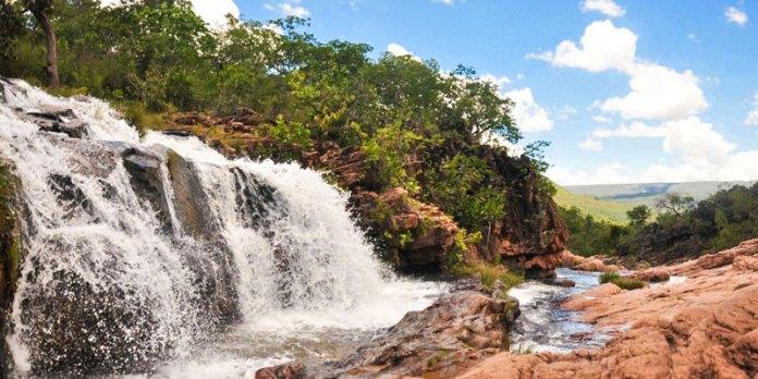 Chapada dos Veadeiros - Complexo Cachoeira do Macaquinho foto