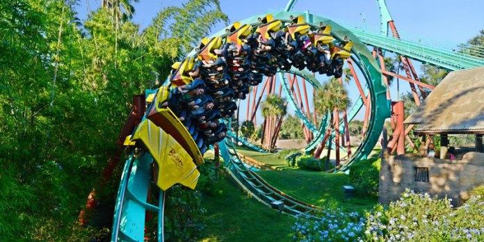 Pontos turísticos da Flórida - Busch Gardens Tampa foto
