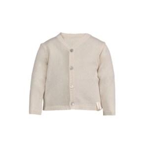 Cardigan en tricot avec encolure en V