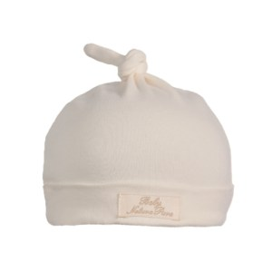 Beanie with Cute Knot on Top