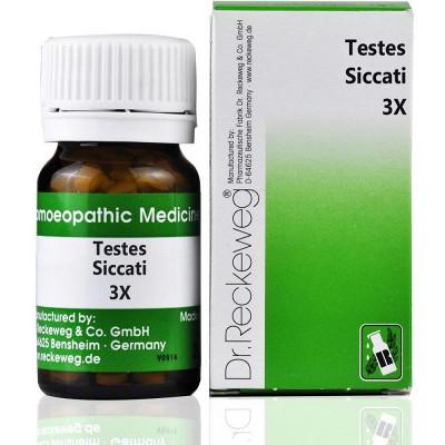Dr. Reckeweg Testes Siccati 3X