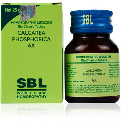 Sbl Calcarea Phosphorica 6X 25G Natura Right