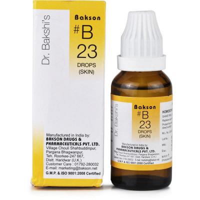 Natura Right Bakson B23 Skin Drops 30ml