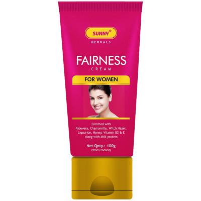 Bakson Sunny Fairness Cream For Women 100G Natura Right