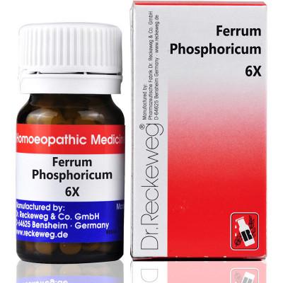 Dr Reckeweg Ferrum Phosphoricum 6X 20G Natura Right