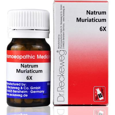 Dr Reckeweg Natrum Muriaticum 6X 20G Natura Right