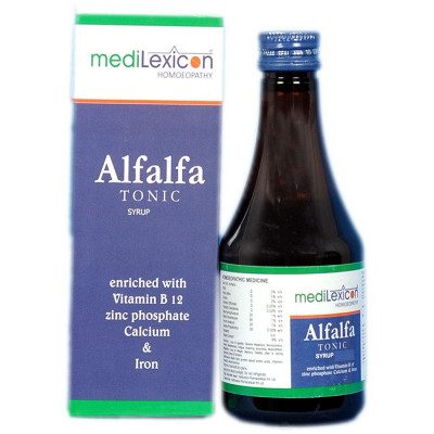 Medilexicon Alfalfa Tonic Syrup 500Ml Natura Right
