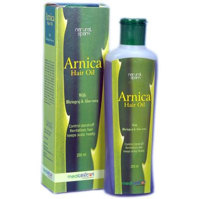 Medilexicon Arnica Hair Oil With Bhringraj Aloe Vera 200ml