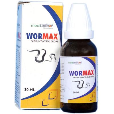 Medilexicon Wormax Worm Control Drop 30Ml Natura Right