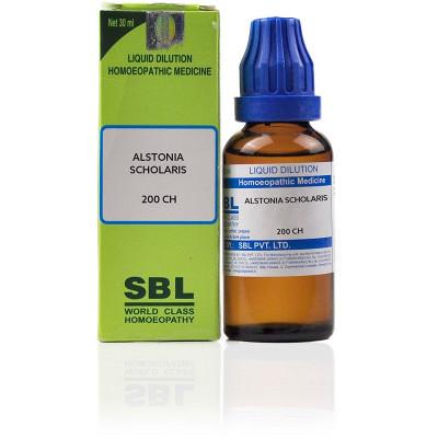 SBL Alstonia Scholaris 200 CH 30ml