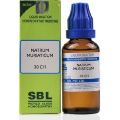 Sbl Natrum Muriaticum 30 Ch 30Ml Natura Right