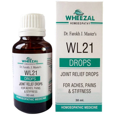 Wheezal Wl 21 Joint Relief Drops 30Ml Natura Right