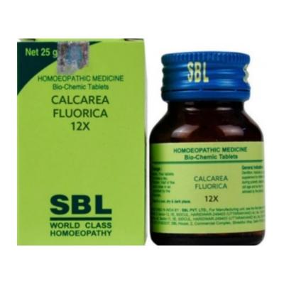 Sbl Calcarea Fluoricum 12X 25G Natura Right