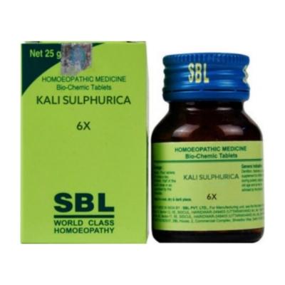 Sbl Kali Sulphuricum 6X 25G Natura Right