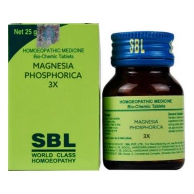 Sbl Magnesia Phosphoricum 3X 25G Natura Right