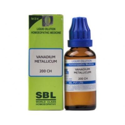 Sbl Vanadium Metallicum 200 Ch 30Ml Natura Right