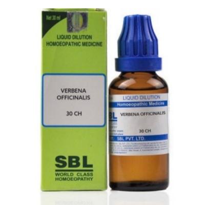 SBL Verbena Officinalis 30 CH 30ml