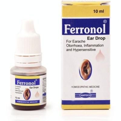Hapdco Ferronol Ear Drops 10ml