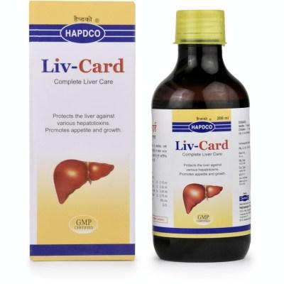 Hapdco Liv Card Syrup 200ml