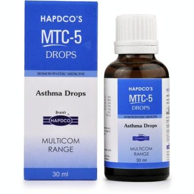 Hapdco Mtc 5 Asthma Drops 30Ml Natura Right