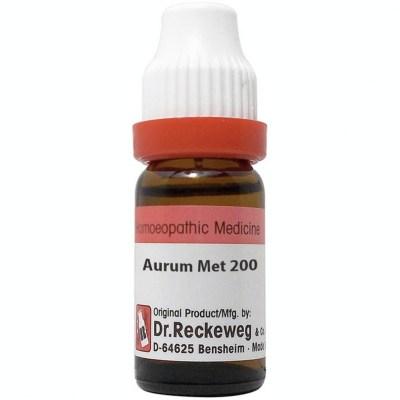 Dr Reckeweg Aurum Metallicum 200 Ch 11Ml Natura Right