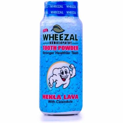Wheezal Hekla Lava Tooth Powder