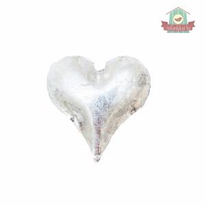 Dekor szív (fém)