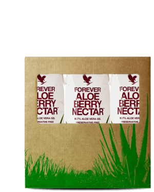 pack 3 boissons aloe vera berry nectar mini forever living