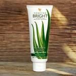 Découvrez les vertus du dentifrice Forever Bright Toothgel à l'Aloès et à la propolis !