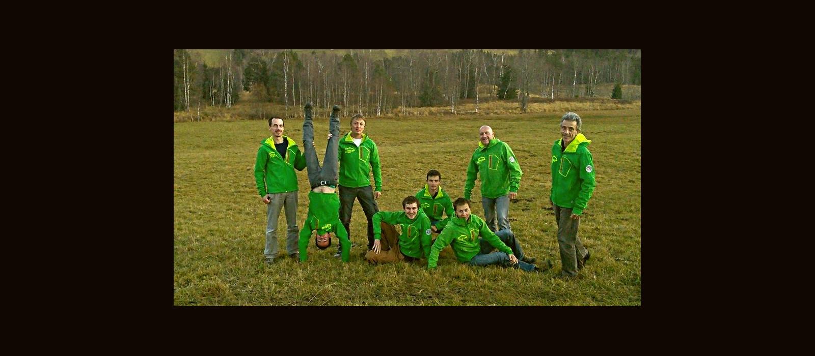 L'équipe de guides touristique de Natur'Odyssée Jura