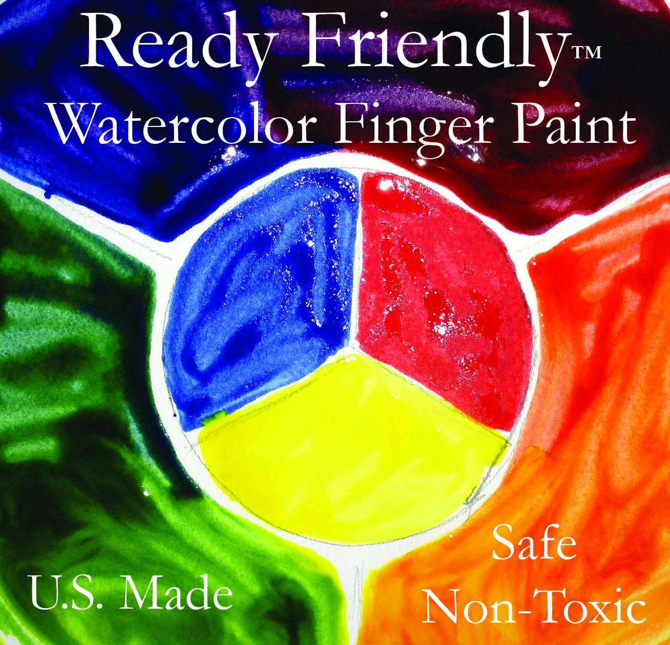 Infant Toddler Finger Paint Classroom Safe Painting For