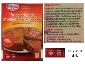 moelleux chocolat tout en un...